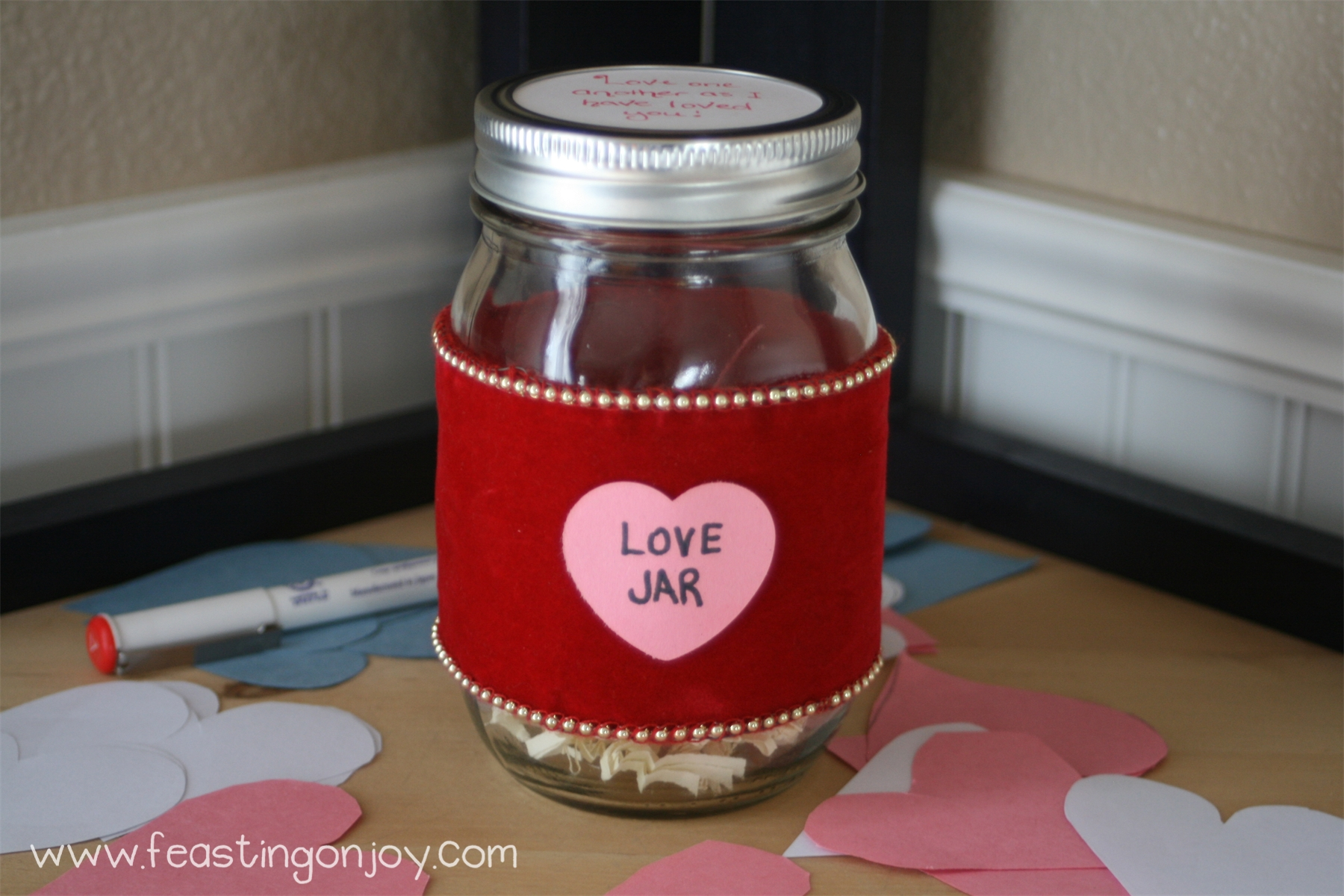 The month of love, a family tradition