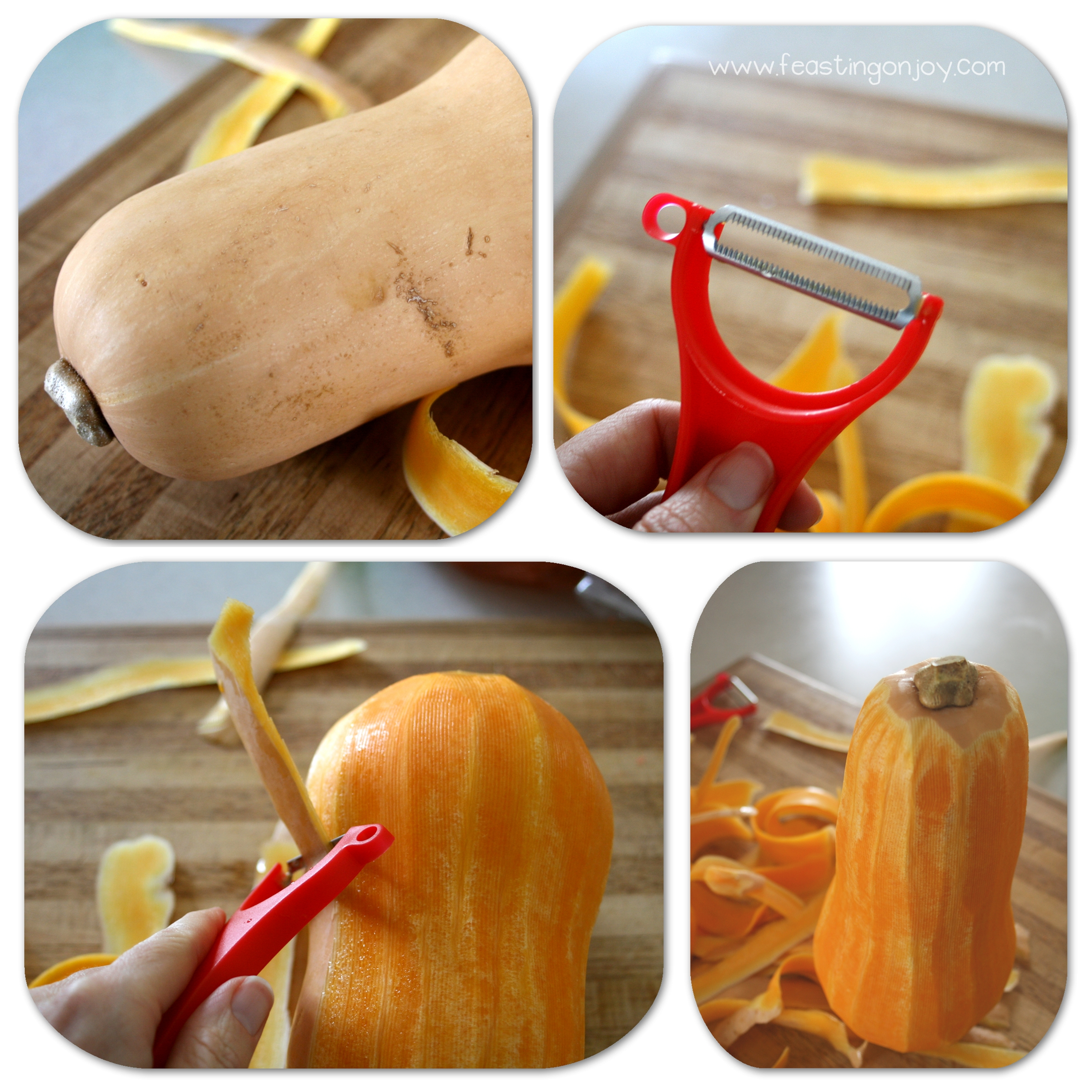 How to Peel and Prep a Butternut Squash