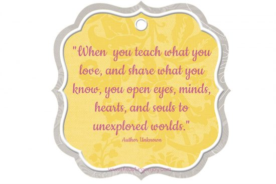 when-you-teach-what-you-know-quote