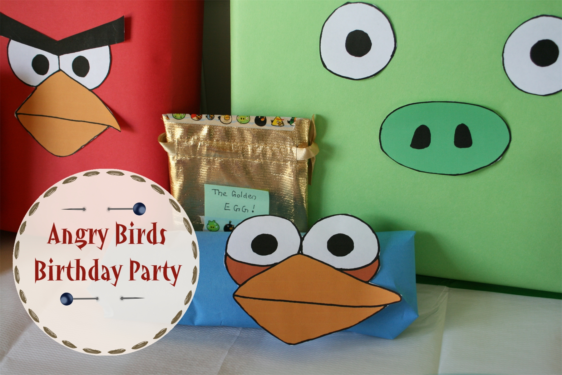 Angry birds birthday party feasting on joy for Angry birds birthday party decoration ideas