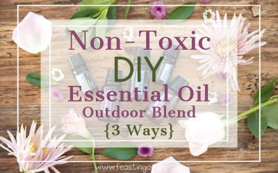 Non-Toxic DIY Essential Oil Outdoor Blend