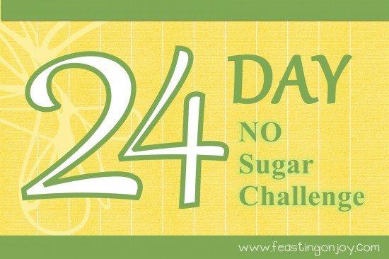 24 Day No Sugar Challenge