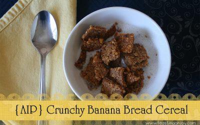 {AIP} Crunchy Banana Bread Cereal