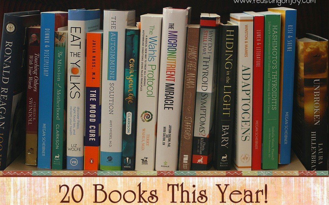 20 Books This year!
