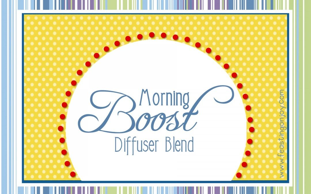 Morning Boost Essential Oil Diffuser Blend