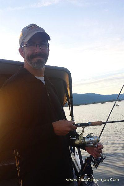 Steve Fishing