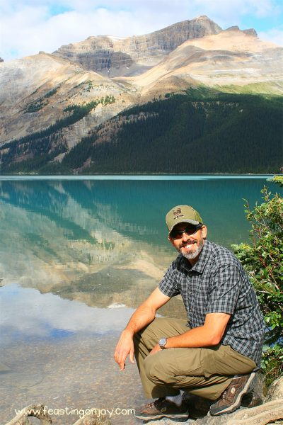 Steve at Bow Lake FOJ