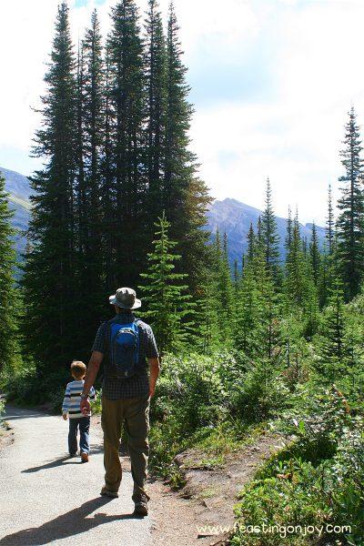 Steve hiking 2