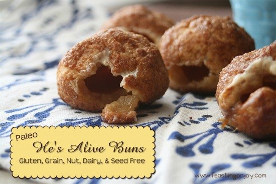 Paleo Hes Alive Buns Gluten Grain Nut Dairy and Seed Free