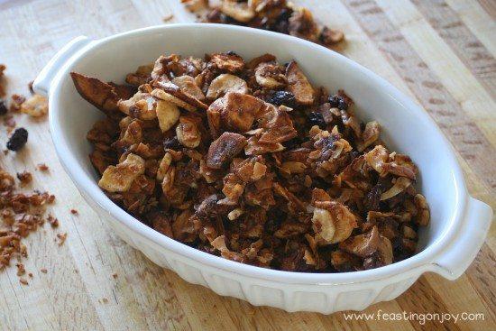 AIP Baked Apple Cinnamon Granola 2