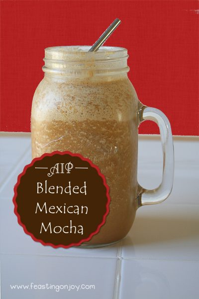 AIP Blended Mexican Mocha