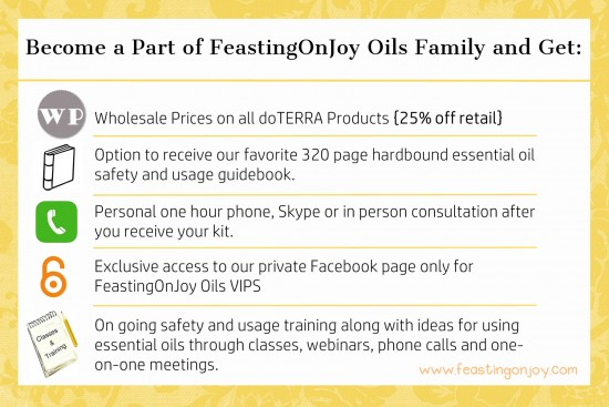What You Get When You Join FeastingOnJoy Oils Family