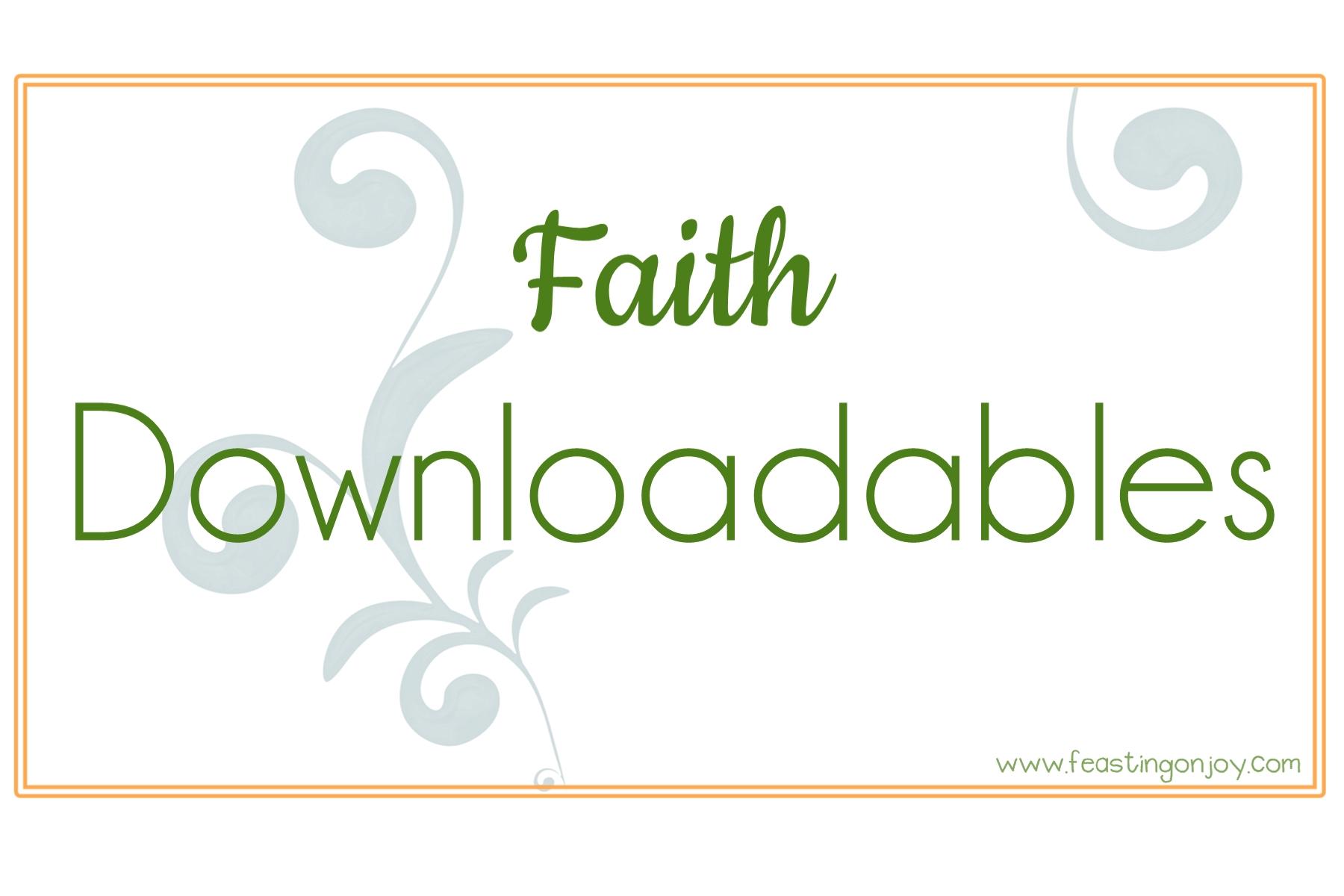 Downloadables Faith
