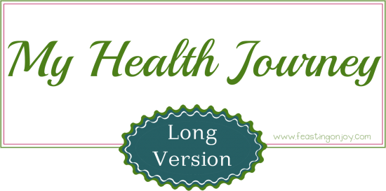 My health journey long version