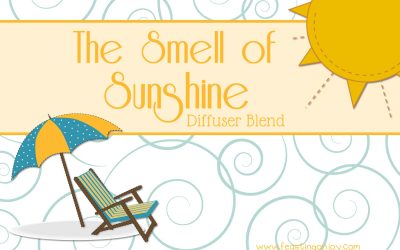The Smell of Sunshine Diffuser Blend