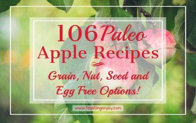 106 Paleo Apple Recipes {all dairy free}