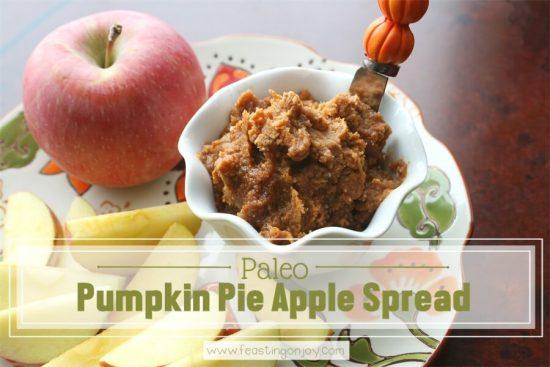 Paleo Pumpkin Apple Spread 1 | Feasting On Joy