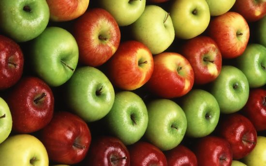 rows-of-apples