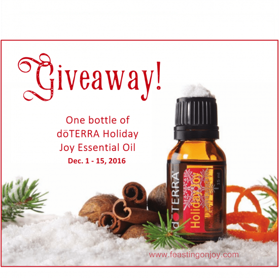 giveaway-doterra-holiday-joy