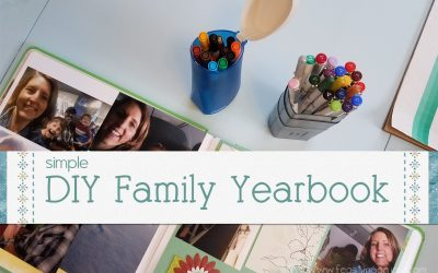 DIY Family Yearbook