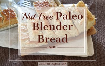 Nut Free Paleo Blender Bread {GAPS Friendly}