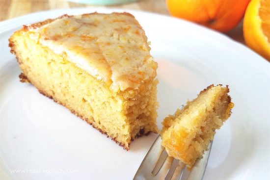 Decadent Grain Free Orange Ginger Honey Cake 5