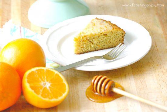 Decadent Grain Free Orange Ginger Honey Cake 2