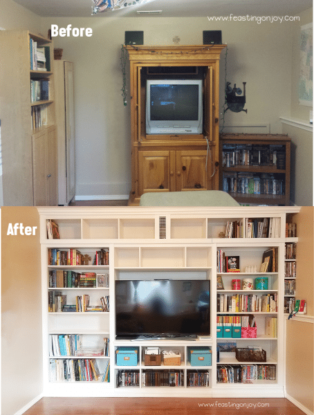 Hemnes Ikea Hack Before and After
