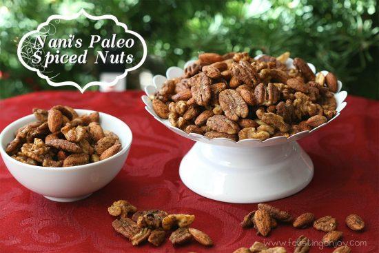 Nani's Paleo Spiced Nuts   Feasting On Joy