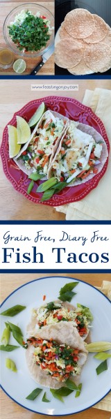 Grain Free Dairy Free Whole Food Fish Tacos 6 | Feasting On Joy