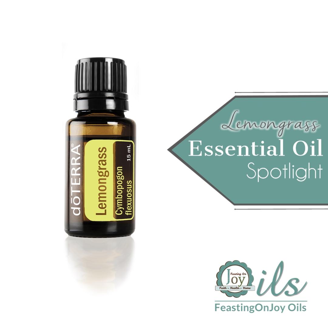 Essential Oil Spotlight: Lemongrass 3 | Feasting On Joy