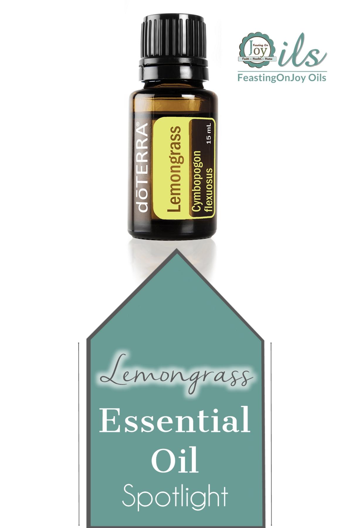 Essential Oil Spotlight: Lemongrass 2 | Feasting On Joy
