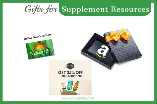 The Colossal Gift Guide for Living the Best Holistic Life (Supplement Resources}   Feasting On Joy