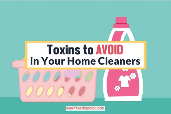 Toxins to Avoid in Your Home Cleaners 1 | Feasting On Joy