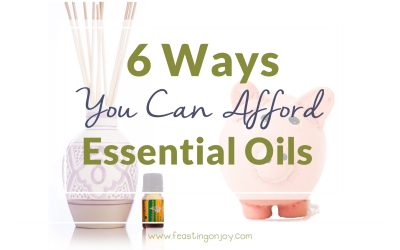 6 Ways You Can Afford Essential Oils