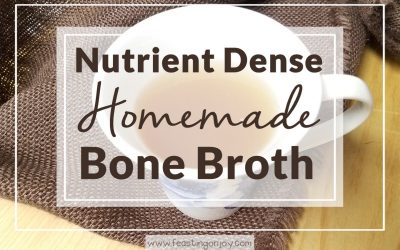 Nutrient Dense Homemade Bone Broth