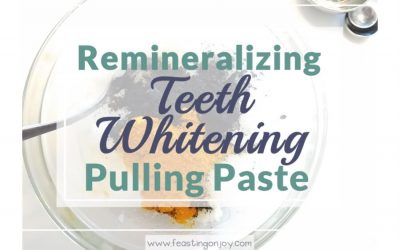 Teeth Whitening Remineralizing Pulling Paste