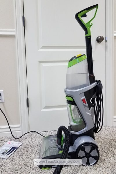 Healthy DIY Carpet Cleaning { With a Machine} 6   Feasting On Joy