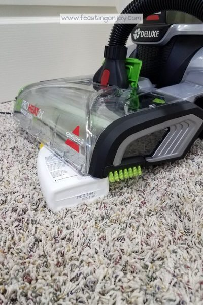 Healthy DIY Carpet Cleaning { With a Machine} 5   Feasting On Joy