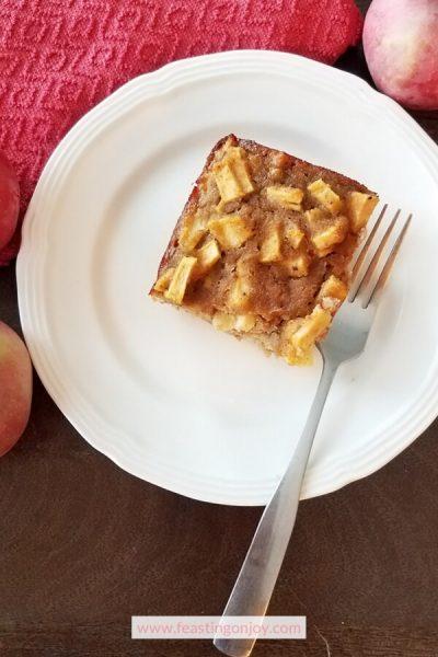 Paleo Apple Cake {Nut Free ~ Dairy Free} 3 | Feasting On Joy