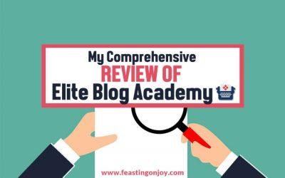 My Comprehensive Review of Elite Blog Academy