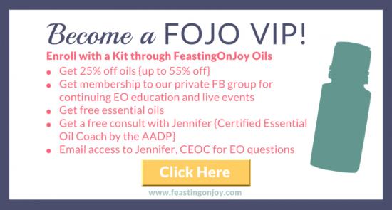 Become a FOJO VIP | FeastingOnJoy Oils