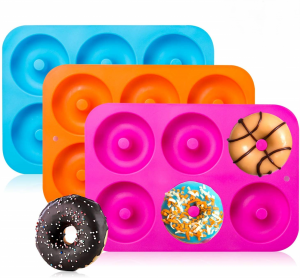 Silicone Donut Molds for Baking | Feasting On Joy