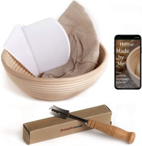Banneton Proofing Basket and Tools for Baking | Feasting On Joy