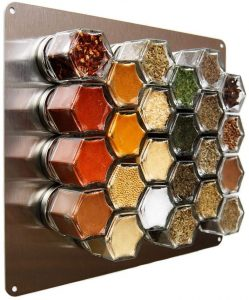 Wall Spice Rack for Baking | Feasting On Joy