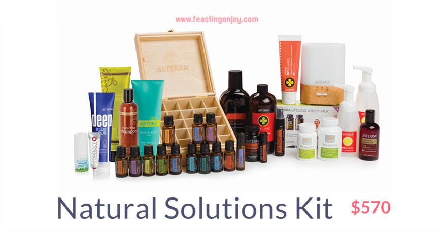 Natural Solutions Kit | Feasting On Joy