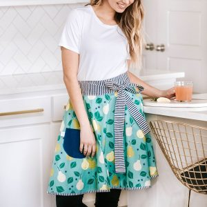 Pear-a-dise Half Apron for Baking | Feasting On Joy