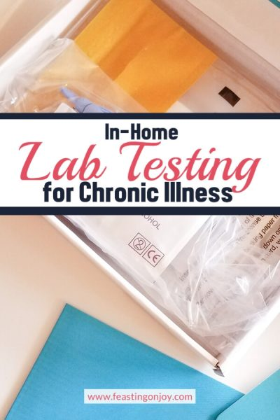 In-Home Lab Testing for Chronic Illness | Feasting On Joy
