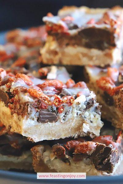 Superfood 7 Layer Bars {Grain, Gluten, Dairy & Nut Free} 2 | Feasting On Joy