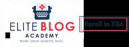 Enroll in Elite Blog Academy | Feasting On Joy